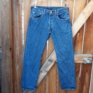 Levis 501 button fly jeans mens sz 32